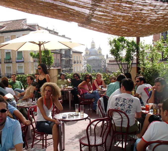 Madrid Rooftop Bars Naked Madrid
